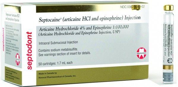 Septocaine 1:100,000